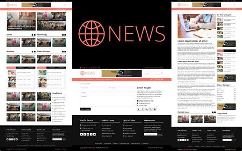 Bootstrap News Template Free Download - Free HTML Template
