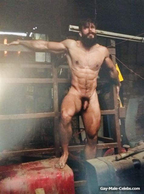 muscle gay male