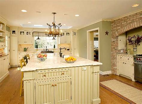 country kitchen colours traditional island country kitchen packard 2762