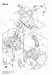 Suzuki Motorcycle 2007 Oem Parts Diagram For Air Cleaner