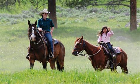 riding horseback yellowstone national park horse trail rides lodges xanterra