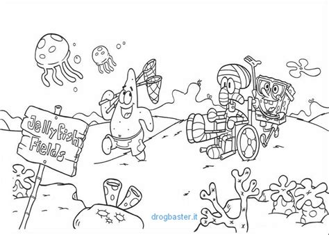 disegni da colorare e stare spongebob spongebob da colorare cartoni animati