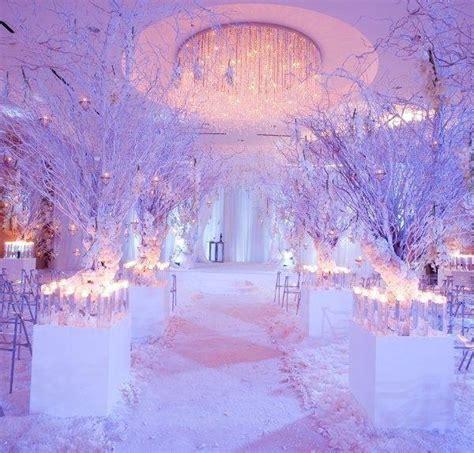 platinum touch events winter wonderland wedding inspiration