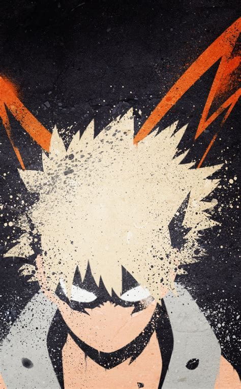 hero academia katsuki bakugou art hd  wallpaper