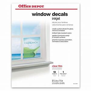 office depot window decals template how to make vinyl With does office depot print stickers