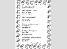 Mi Sala Amarilla Poesías y canciones de hormigas