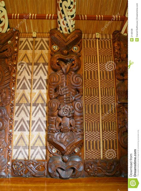 maori carvings stock photo image  marae  long
