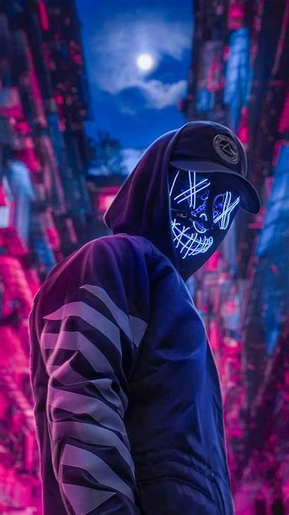Purge Mask Led Wallpapers Backgrounds Android