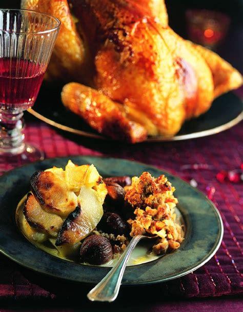 cuisine viennoise recette dinde fermière farcie aux marrons et foie gras