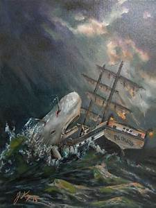 Moby Dick oil painting, in David K's Other great pieces ...