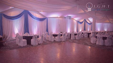 Wedding Wall Draping - michigan drapery pipe drape fabric backdrop for