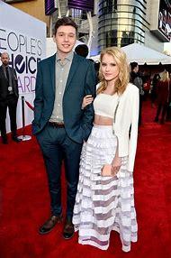 Nick Robinson and Taylor
