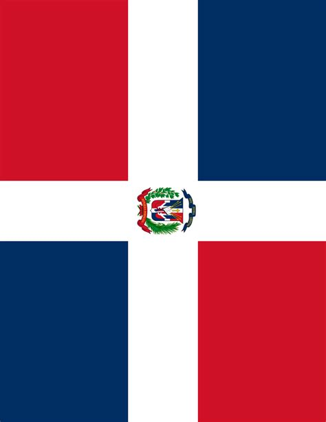 dominican republic flag full page - /flags/Countries/D ...