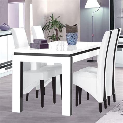 table et chaise salle a manger pas cher table et chaise cuisine pas cher 7 indogate salle a manger complete blanc laque but lertloy com