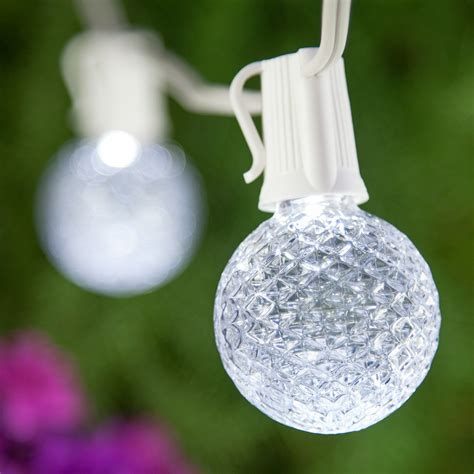 patio lights cool white led lights    bulbs