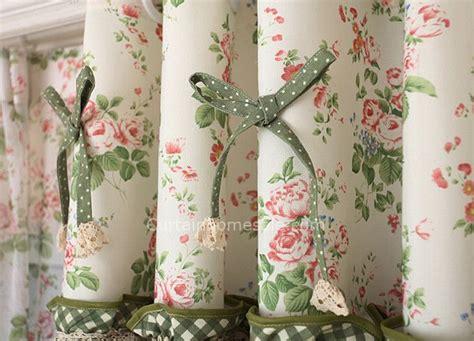 tende merletto rivestimenti finestra tende di motivi floreali e pois
