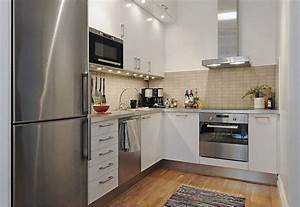 20 spacious small kitchen ideas With kitchen cabinet design for small house