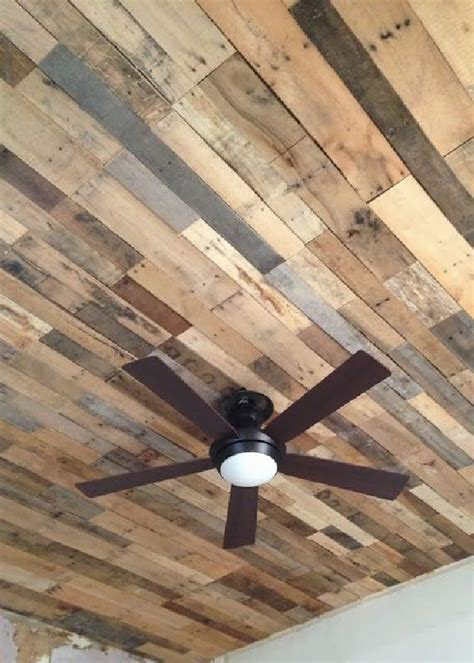 recycled pallet wood ceiling designs pallets designs