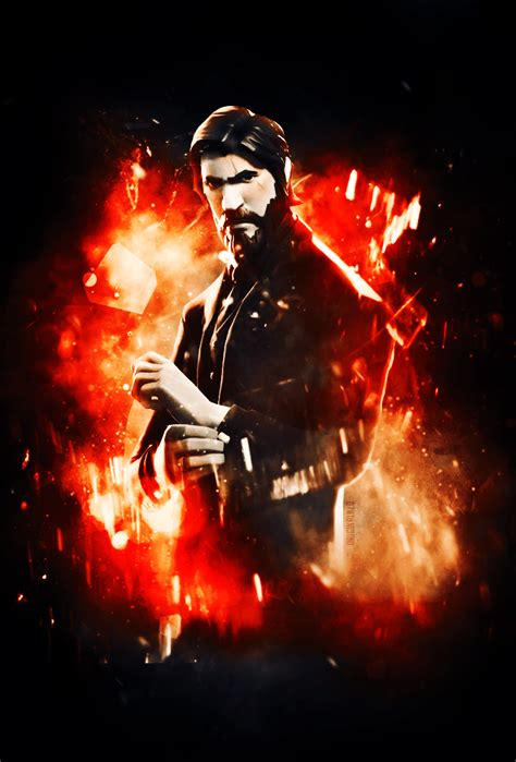 reaper john wick wallpaper edit fortnitebr