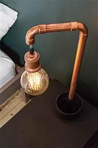 Lampe De Chevet Cuivre : d coration diy dans un appartement scandinave blog d co mydecolab ~ Teatrodelosmanantiales.com Idées de Décoration