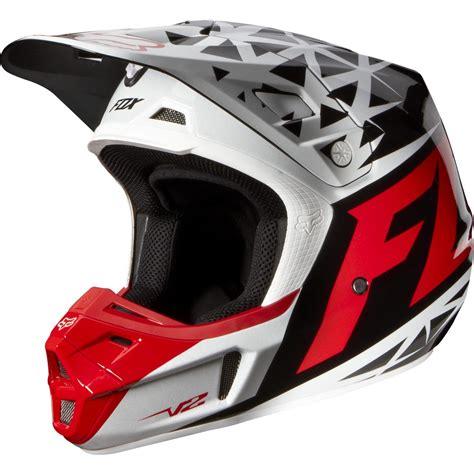motocross helmets sale clearance sale fox 2014 v2 given helmet red white