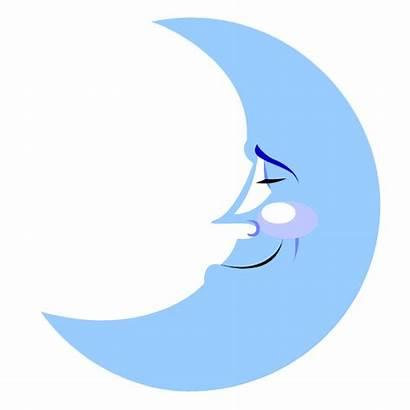 Moon Clipart Crescent Cartoon Clip Drawings Graphics