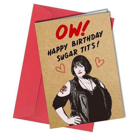 funny gavin  stacey valentines birthday card