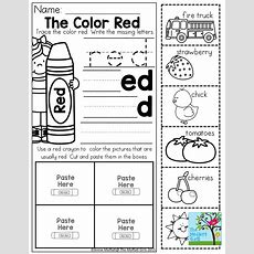 Color Word Practice And Tons Of Other Printable For Preschool To 3rd Grade! Preschool