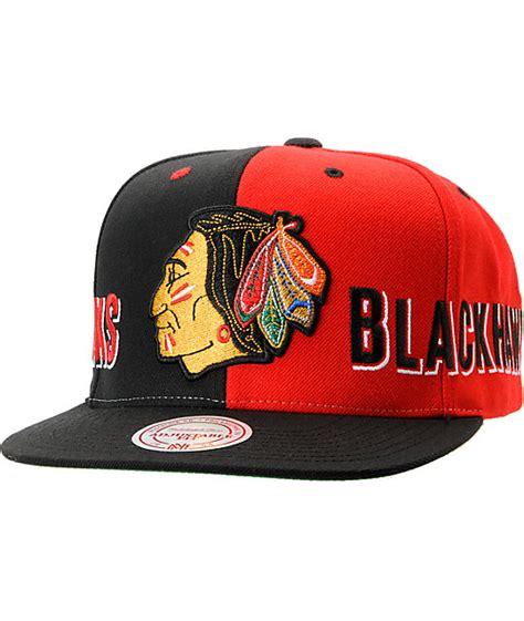 nhl mitchell  ness chicago blackhawks  split