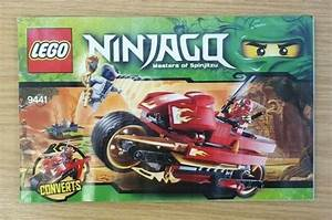 Lego Ninjago Set 9441 Instruction Manual Only