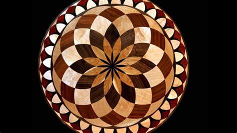 wood floor medallions inlay designs youtube