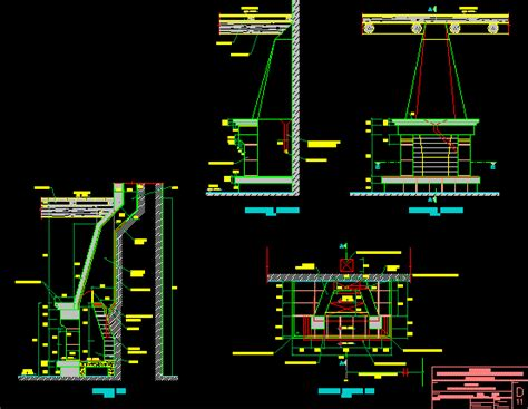 fireplace stoves dwg detail  autocad designs cad