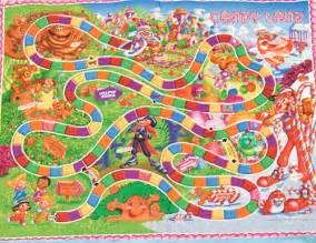 Candyland Board Game Characters
