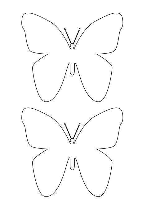 sagome bambini da ritagliare immagini farfalle da colorare e ritagliare