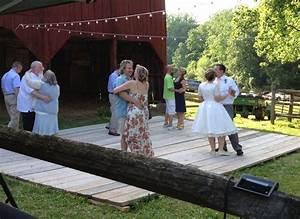 barn wedding dance floor barn dance pinterest With how to make an outdoor wedding dance floor