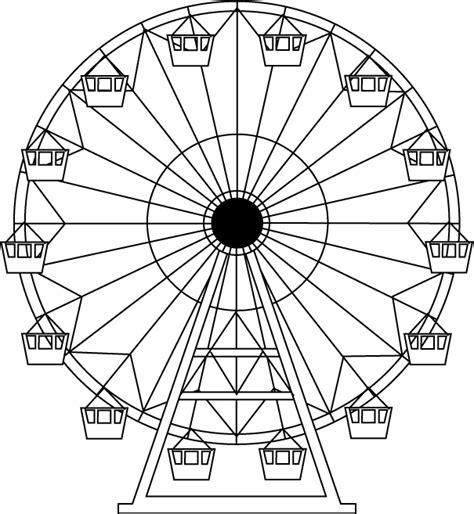 ferris wheel coloring pages az coloring pages