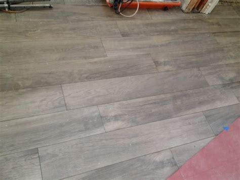 grout color for wood tile grout color for light wood look tile