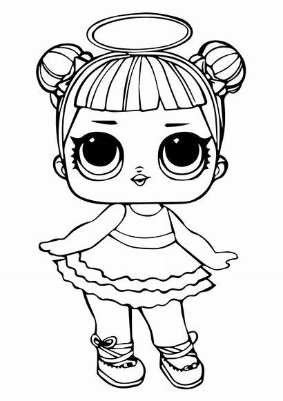 Lol Coloring Sugar Pages Surprise Doll Printable