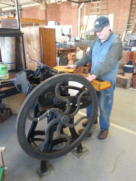 antique printing  champion press geelong vintage
