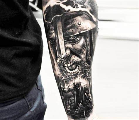 Vikings Tattoo By Jakub Hanus  Tattoo Avant Bras