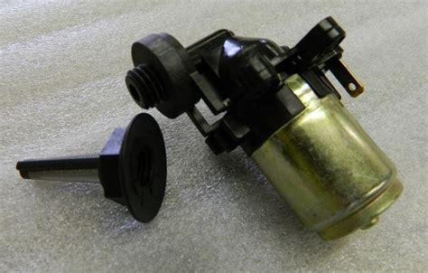 corvette pump windshield washer  filter