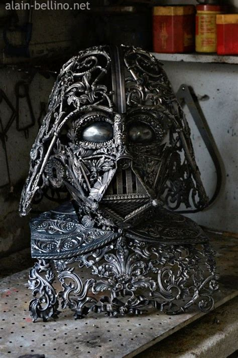 Amazing Metal Sculptures Made From Reclaimed Bronze Ornaments by Amazing Metal Sculptures Made From Reclaimed Bronze