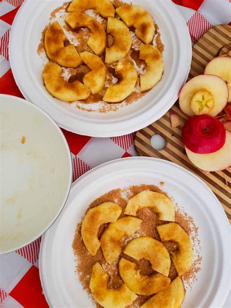 cinnamon apples airfryer sugar recipe air fryer slices apple