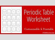 Blank Periodic Table Printable Worksheet Printable 360