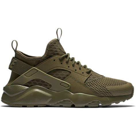 green shoes basket nike air huarache run ultra br kaki 833147 200 de