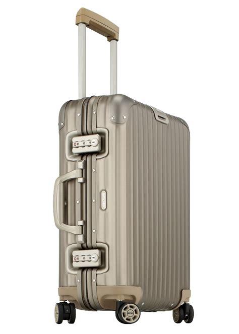 rimowa cabin luggage bergmanluggage rimowa topas titanium cabin