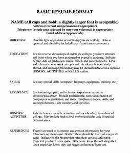 basic resume template word health symptoms and curecom With free basic resume samples