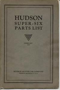 1922 Hudson Super Six - Information And Photos