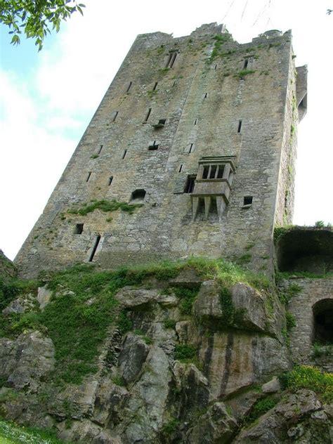 Kissing The Blarney Stone At Blarney Castle Ireland