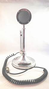 Astatic Silver Eagle Microphone  Ham Cb Radio Vintage Mic